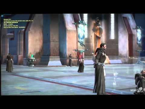 Star Wars The Old Republic Gamescom 2011 Jedi Consular First dialogues - MMO HD TV (720p)