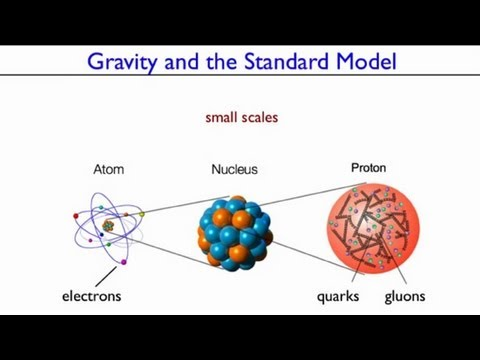 Particle Physics Gravity and The Standard Model