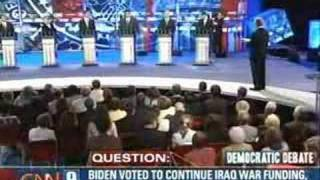 2007 NH Democratic Presidential Debate (Part 2)