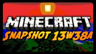 Minecraft Snapshot - 13w38a - SECRET SHADERS, MAP FRAMES & MORE!