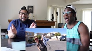 I Dare You: ULTIMATE WEDGIE! (ft. Justin Chon & David Choi) REACTION!!!!