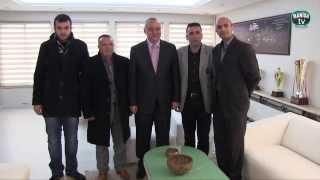 Başkan Ergün Ardahanlıları Ağırladı