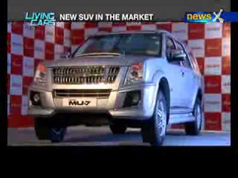 Living Cars: Isuzu Rolls out MU7 in india