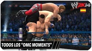 """WWE 2K14 Como Hacer Todos Los """"OMG MOMENTS"""" Español"""