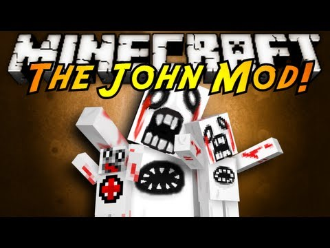 Minecraft Mod Showcase : JOHN!, MY GOD...THIS HAS GOT TO BE ONE OF THE MOST TERRIFYING MOBS I'VE EVER WITNESSED?! AND THE SOUNDS TOO!! AAAAHH!! Download the mod and channel here! (Tell em S...