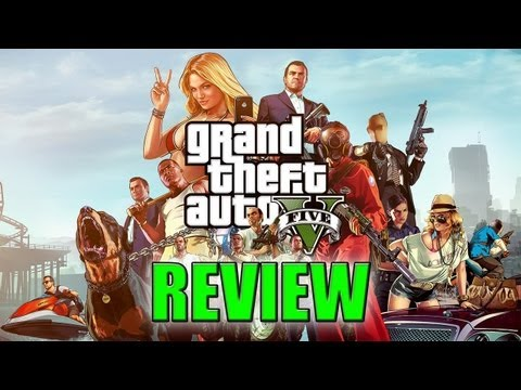 SomeOrdinaryReviews - Grand Theft Auto V (PS3/360),