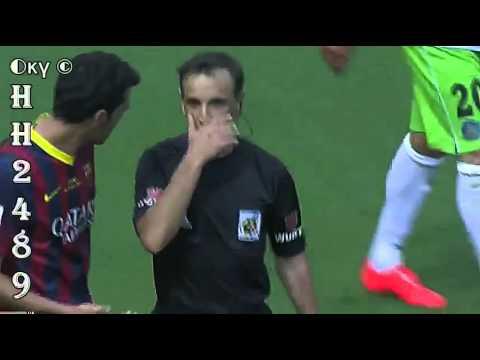 Barcelona vs Getafe 2-2 → RESUMEN & GOLES ← Barcelona 2-2 Getafe ~ Liga BBVA ~ 03-05-2014