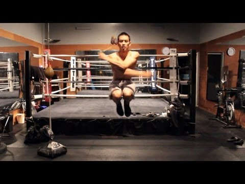 Boxing Jump Rope Tricks