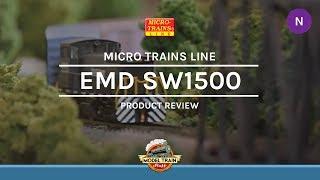 N Scale Micro Trains EMD SW1500
