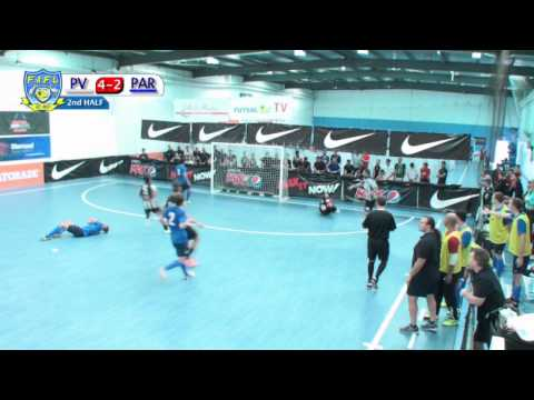 Parra Blues v Pascoe Vale, Game 1, Group B, Futsal Oz: Men's FAFL 2014