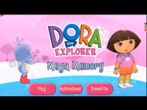 DORA mega memory - Dora the Explorer - Baby Girls games and cartoons