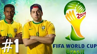 FIFA World Cup 2014 Journey Begins W/Dre Ep.1