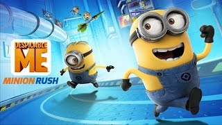 Despicable Me 2: Minion Rush Jelly Testing Area