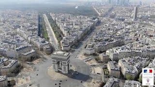 شوارع باريس شبه خالية من الفرنسيين والسياح