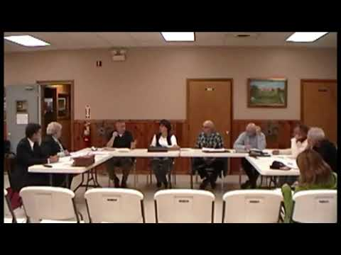 Altona Town Board Meeting 11-8-12