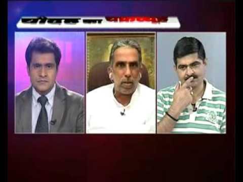 Krishan Pal Gujjar BJP Candidate with Rajeev Raghunandan in 14 ka Chakravyuh Part- 2