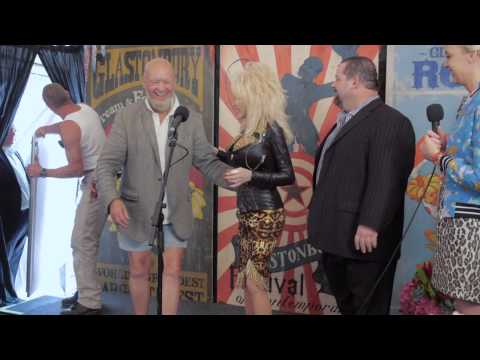 Glastonbury 2014 - Dolly Parton Interview