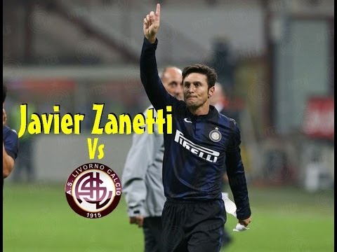 Javier Zanetti Vs Livorno(10/11/2013)HD 720p by轩旗