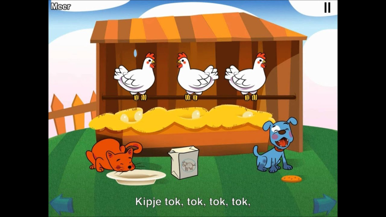 Poesje mauw liedje - Kinderliedjes #1 App - YouTube