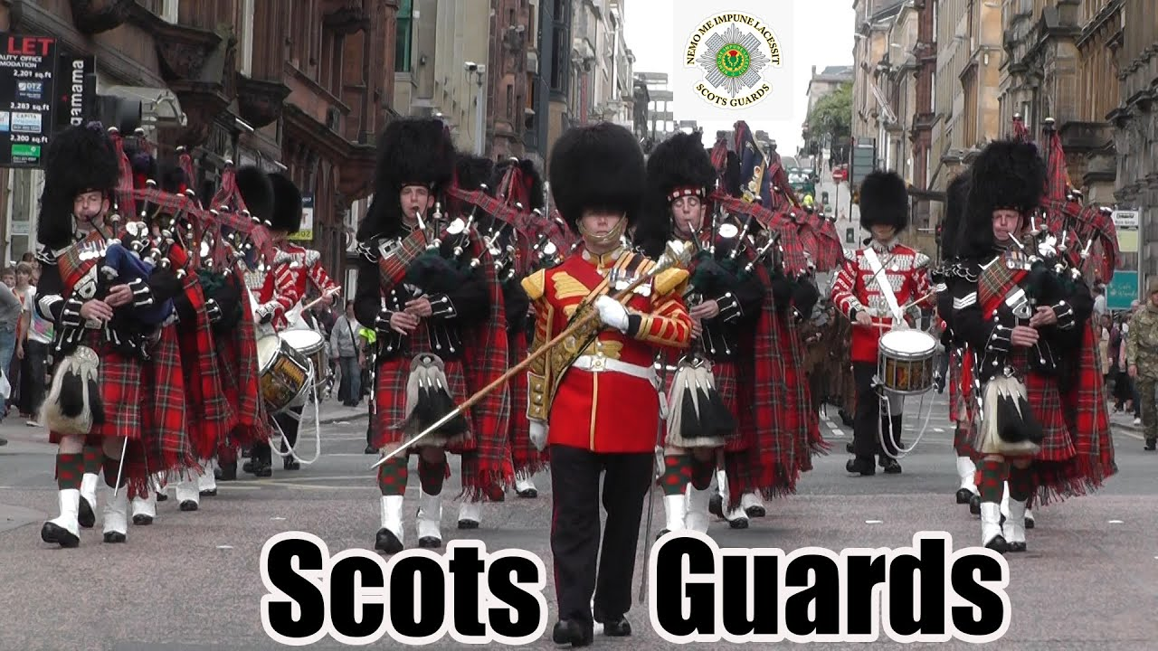 Scots Guards Pipes And Drums Us Tour