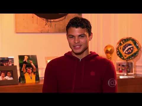 Série Especial jogadores da Seleção - Thiago Silva - Jornal Nacional 26.05.2014
