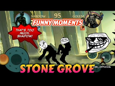 Stone Grove Funny Moments | CSK OFFICIAL | Shadow Fight 2