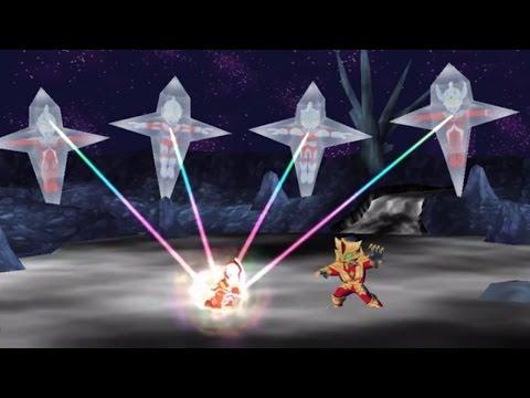 Sieu Nhan Game Play | Ultraman Gaia  Kamen rider Decade | Gundam Man | Game Great battle fullblast#5