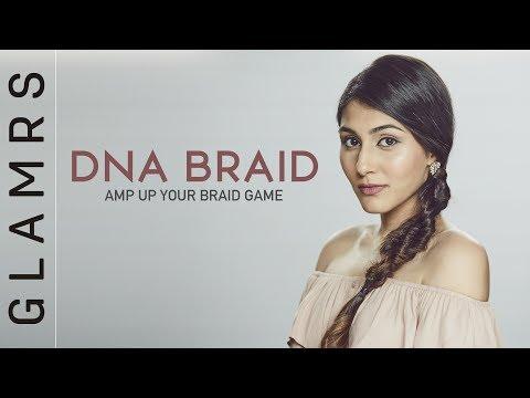 3 Strand Fishtail Braid Summer Hairstyle | DNA Braid