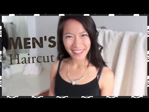 ASMR Binaural Men's Haircut with Face Massage - FairyCharASMR