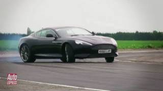 Aston Martin Virage vs Mercedes SLS AMG review - Auto Express