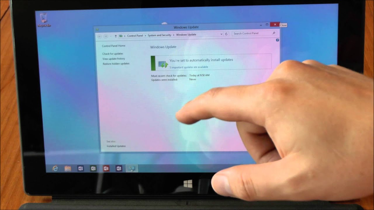 how to download google chrome on microsoft surface rt