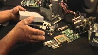 scrapping a computer for gold, platinum, palladium, copper, aluminum