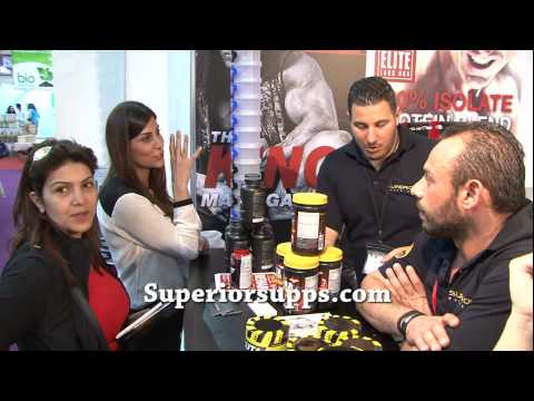 Superior Supps @ Inshape fair 2014, Biel downtown Beirut