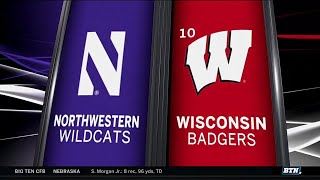 The Badgers Take Down Northwestern - Football Highlights