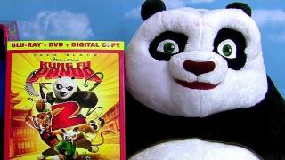 Kung Fu Panda 2 Blu Ray And Po Wrestler Talking Toy