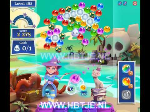 Bubble Witch Saga 2 level 185