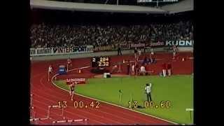 Atletismo, Fernando Mamede - 1º Lugar nos 5000m, do Meeting de Zurich 1983