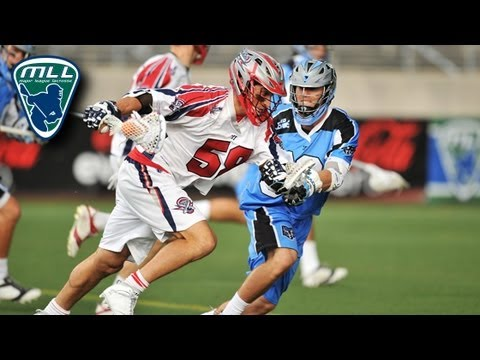 MLL Week 9 Highlights: Boston Cannons vs Ohio Machine