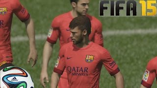 FIFA 15 Gameplay En PS4 Barcelona Vs Chelsea Pura