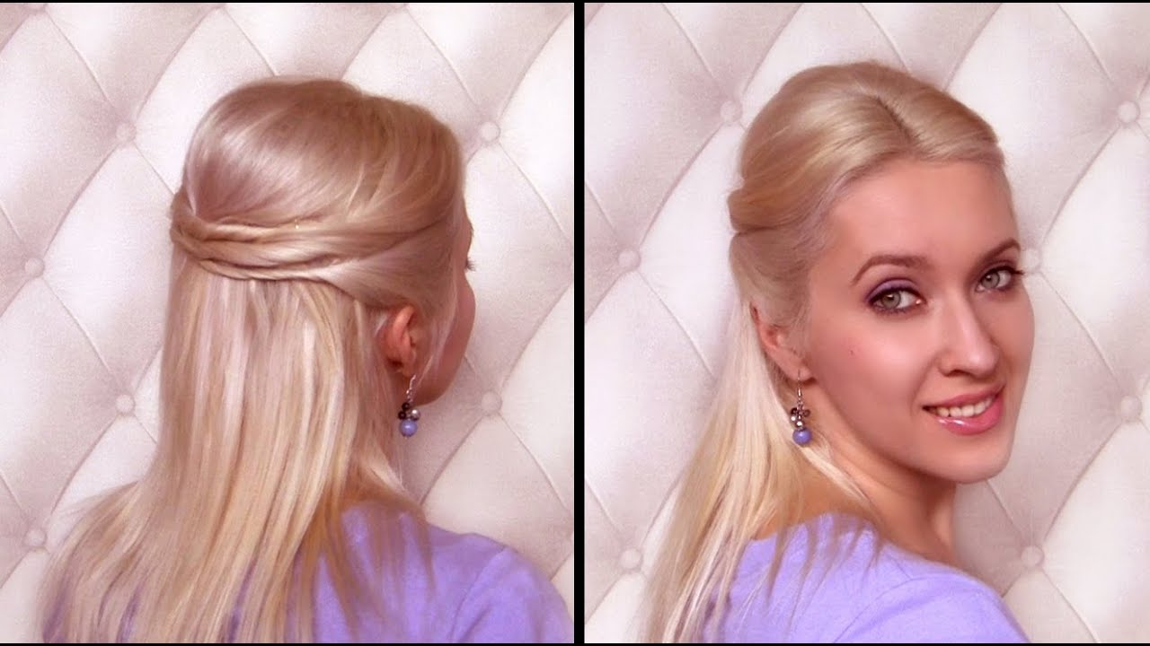 hairstyles for thick long hair youtube collections