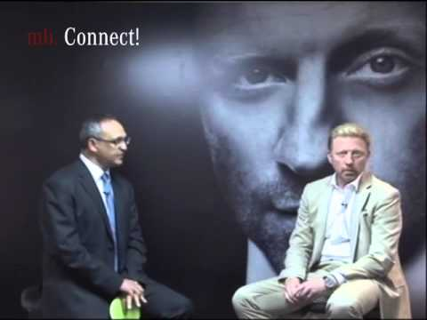 mb!Connect with Boris Becker