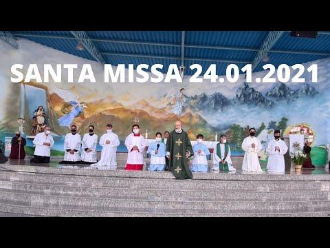 Santa Missa | 24.01.2021 | Domingo | Padre José Sometti | ANSPAZ