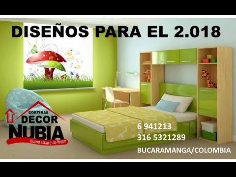 Cortinas en bucaramanga 34 youtube for Decoracion hogar bucaramanga
