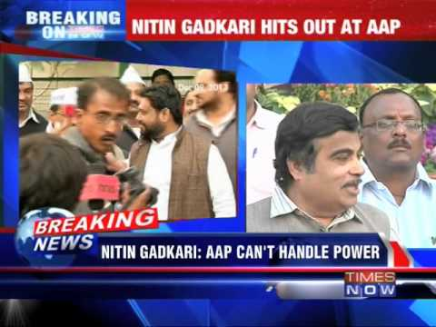 AAP is a confused party: Nitin Gadkari