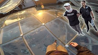 ROOFTOP POLICE ESCAPE *Arrested*