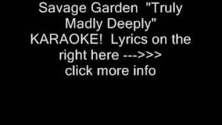 Savage garden i knew i loved you official video videos de savagegardenvevo clips de I want you savage garden lyrics