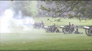 AP - Raw: British Queen's Birthday Celebration