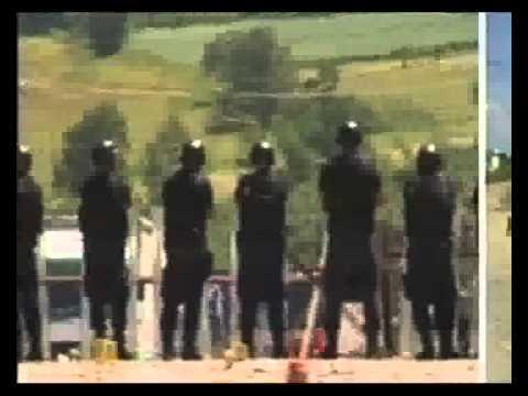 Lëndohen 32 policë në Merdare
