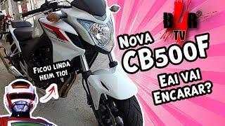 [Motovlog B4R TV] CB500F # Quinhentinha Quente! Eai Vai