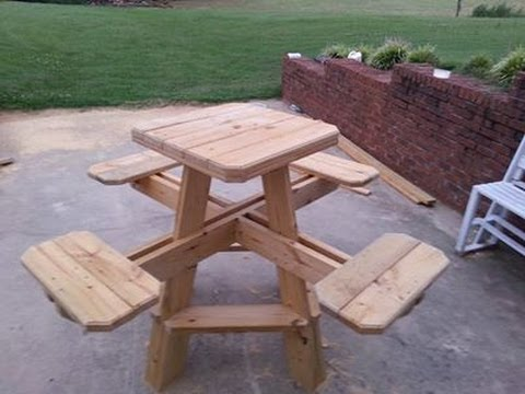 Bar Stool Picnic Table Build Chapter 1 Youtube